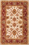 Safavieh Classic CL244D Ivory - Red Area Rug