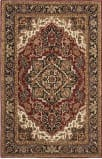 Safavieh Classic CL763B Red - Navy Area Rug