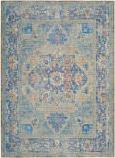 Safavieh Claremont Clr664c Blue - Gold Area Rug