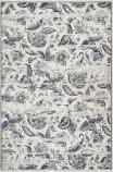 Safavieh Carnegie Cng622c Cream - Light Grey Area Rug