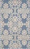 Safavieh Cottage Cot908f Light Blue - Beige Area Rug