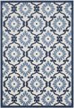 Safavieh Cottage Cot922b Ivory - Blue Area Rug