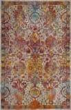 Safavieh Crystal Crs505a Light Blue - Orange Area Rug