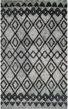 Safavieh Casablanca Shag Csb845k Grey - Charcoal Area Rug