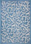 Safavieh Courtyard CY2653-3103 Blue / Natural Area Rug