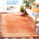 Safavieh Courtyard CY2665-3202 Terracotta / Natural Area Rug