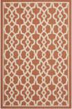Safavieh Courtyard Cy6071-241 Terracotta / Beige Area Rug