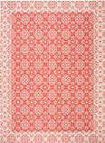 Safavieh Courtyard CY6550-28 Red / Creme Area Rug