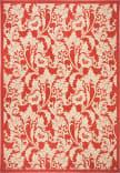 Safavieh Courtyard CY6565-28 Red / Creme Area Rug