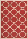 Safavieh Courtyard CY6924-248 Red / Bone Area Rug