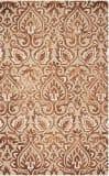 Safavieh Dip Dye Ddy511q Copper - Beige Area Rug