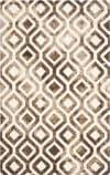 Safavieh Dip Dye Ddy679l Ivory - Chocolate Area Rug