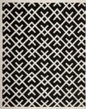 Safavieh Dhurries DHU552L Black / Ivory Area Rug