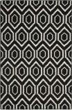 Safavieh Dhurries DHU556L Black / Ivory Area Rug