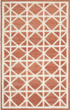 Safavieh Dhurries DHU558A Red / Ivory Area Rug