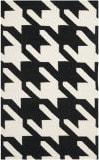 Safavieh Dhurries DHU570A Black / Ivory Area Rug