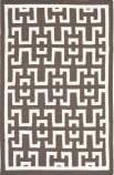 Safavieh Dhurries DHU621C Chocolate / Ivory Area Rug