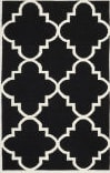 Safavieh Dhurries DHU633A Black / Ivory Area Rug