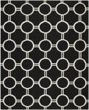 Safavieh Dhurries DHU636A Black / Ivory Area Rug