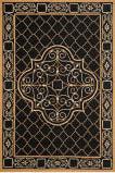 Safavieh Durarug Ezc729d Black - Gold Area Rug