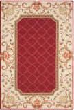 Safavieh Durarug Ezc753c Burgundy - Ivory Area Rug