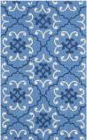 Safavieh Four Seasons Frs234a Blue - Ivory Area Rug