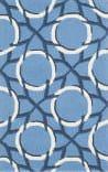 Safavieh Four Seasons Frs238a Blue - Ivory Area Rug