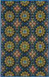 Safavieh Four Seasons Frs426a Black / Blue Area Rug