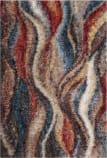 Safavieh Gypsy Gyp523c Rust - Blue Area Rug