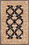 Safavieh Heritage HG817A Black - Ivory Area Rug