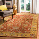 Safavieh Heritage HG820A Red - Natural Area Rug