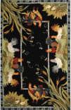 Safavieh Chelsea HK56B Black Area Rug