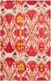 Safavieh Ikat IKT226A Ivory / Red Area Rug