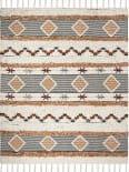 Safavieh Kenya Kny904a Ivory - Black - Orange Area Rug