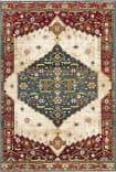 Safavieh Kashan Ksn300a Blue - Red Area Rug