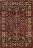 Safavieh Kashan Ksn305l Red - Ivory Area Rug