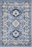 Safavieh Kazak Kzk119d Blue - Creme Area Rug