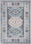 Safavieh Kazak Kzk120g Grey - Blue Area Rug