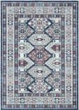 Safavieh Kazak Kzk121b Blue - Grey Area Rug