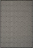 Safavieh Linden Lnd129a Light Grey - Charcoal Area Rug