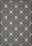 Safavieh Linden Lnd132a Light Grey - Charcoal Area Rug