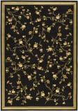 Safavieh Lyndhurst LNH220A Black / Green Area Rug