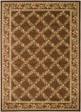 Safavieh Lyndhurst LNH557-2525 Brown / Brown Area Rug