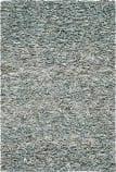 Safavieh Leather Shag LSG511L Light Blue Area Rug
