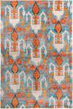 Safavieh Luxor Lux162a Aqua - Orange Area Rug