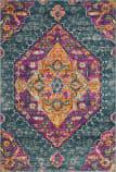 Safavieh Madison Mad119c Blue - Fuchsia Area Rug