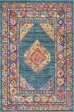 Safavieh Madison Mad133a Light Blue - Orange Area Rug