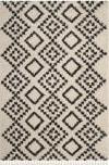 Safavieh Moroccan Fringe Shag Mfg245b Cream - Charcoal Area Rug