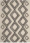 Safavieh Moroccan Fringe Shag Mfg247b Cream - Charcoal Area Rug
