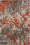 Safavieh Monaco Mnc225h Grey - Orange Area Rug